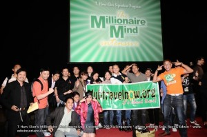 Pinoys and PSI grads in the Millionaire Mind Intensive