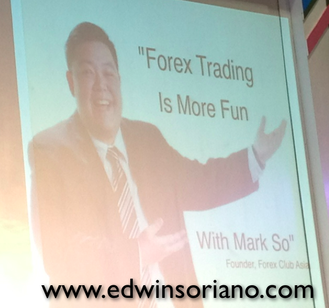 Mark so forex trader