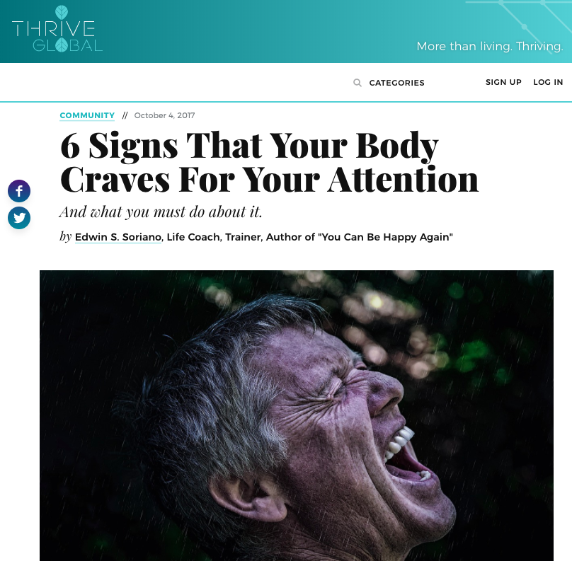 6 Signs That Your Body Craves For Your Attention