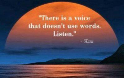 Listen. Be Present