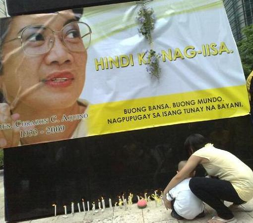 Light a little candle - the Philippines shall be greater still