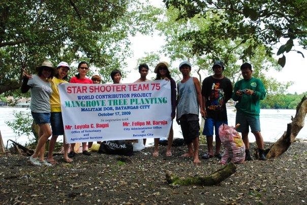 SST75 Mangrove tree planting