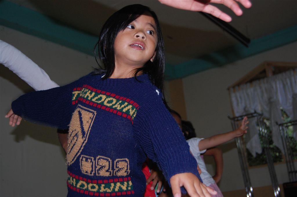 Bethesda Kids in a Cordilleran Dance