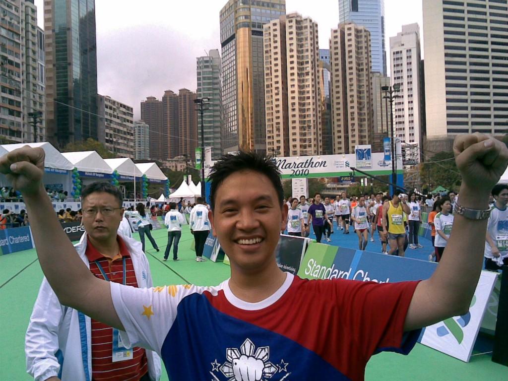 Ka Edong sa Hong Kong Marathon
