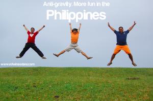 Anti-gravity. More fun in the Philippines! Location - Marlboro Country, Batanes