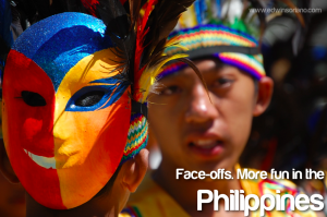 Face-offs. More fun in the Philippines! -  Panagbengga, Baguio City