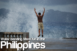 Water Bending More fun in the Philippines - Batanes