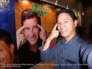 Ka Edong and T Harv Eker at the Millionaire Mind Intensive