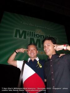 Millionaire Minds Ariel Manalac and edWIN Ka Edong Soriano