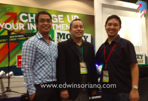 """Program Manager"" Airick Daquioag, Organizer Heinz Bulos and Investor Edwin Soriano"