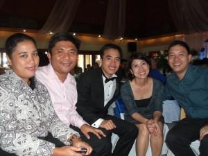 Cuyo Tangays at Cesars Wedding: Grace and Dexter Pante, Cesar, Rhea and Edong