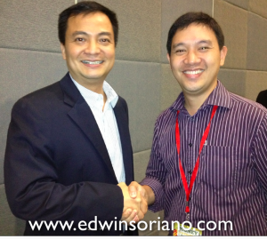 Eric Soriano and Edwin Soriano at the Money Summit