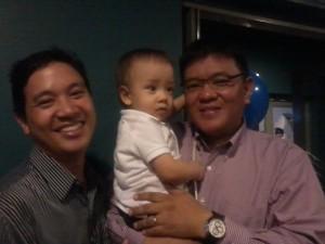 Ka Edong with Makati Feast Builder Randy Borromeo