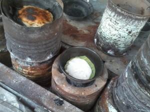 Lingayen Puto - cooked like Bibingka