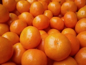 Oranges that looked like tomatoes