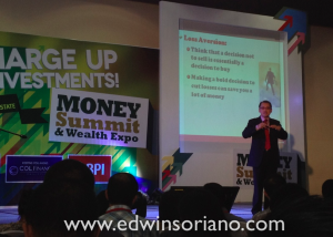 Rex Mendoza presents at the Money Summit and Wealth Expo