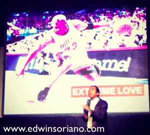 Passion is Extreme Love. Bro Alvin shared how Michael Jordan uplifted the heights of basketball by his sheer passion for the sport.