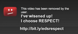 I've wisened up! I choose RESPECT!