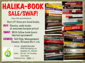 Halika-book Sale and Swap