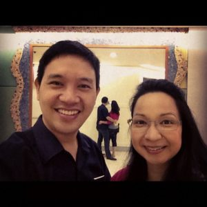EdWIN and Rezza: Engaged in Teaching, Growing and Praising the Lord with our life