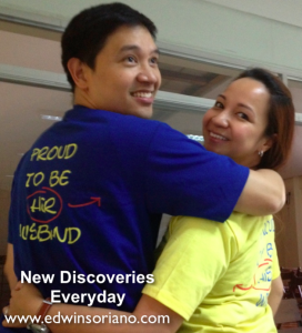 Edwin and Rezza serving at Discovery Weekend