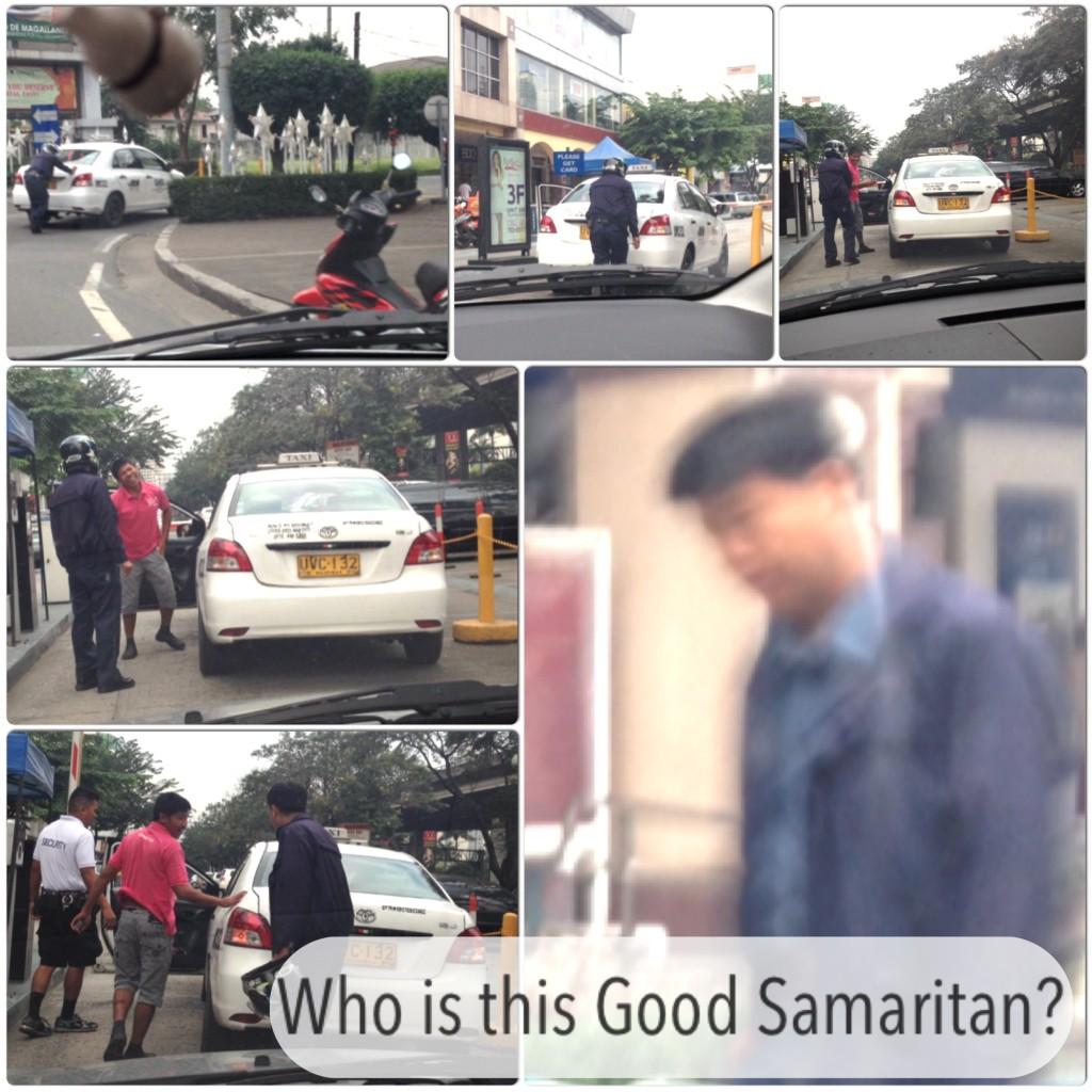 Who is this Good Samaritan in Blue Uniform?